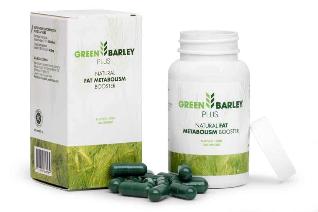 green barley plus ondersteuning van het gewichtsverlies