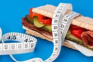 calorische waarde van de sandwich