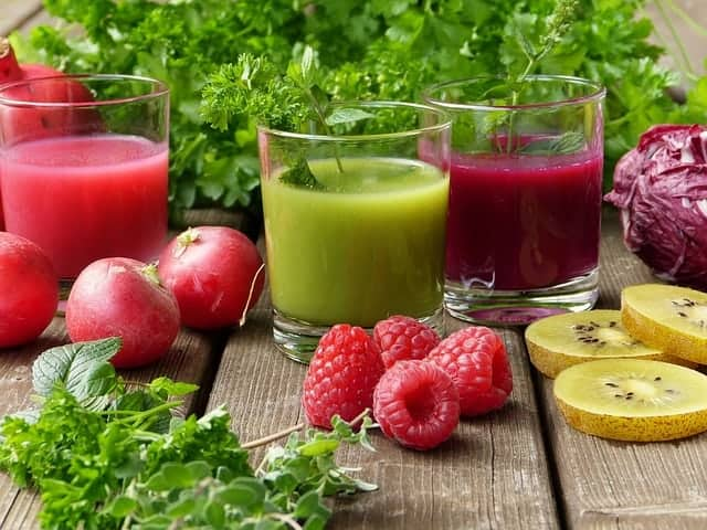 fruit- en groentesappen