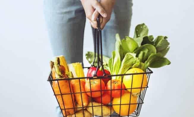 groente- en fruitmand