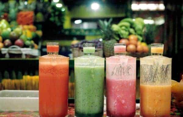 Cocktails voor gewichtsverlies fruitshakes