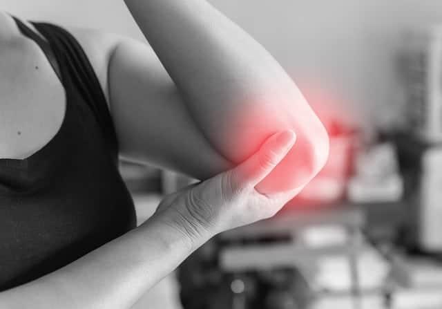 pijn in het ellebooggewricht