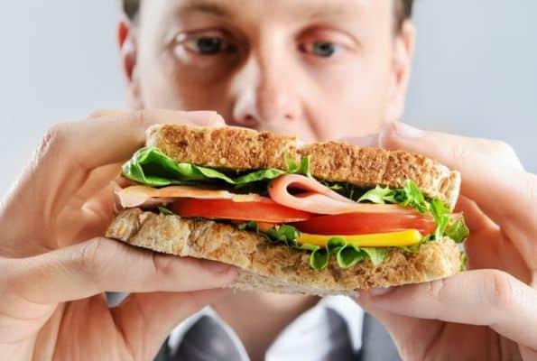 gezond, lekker broodje