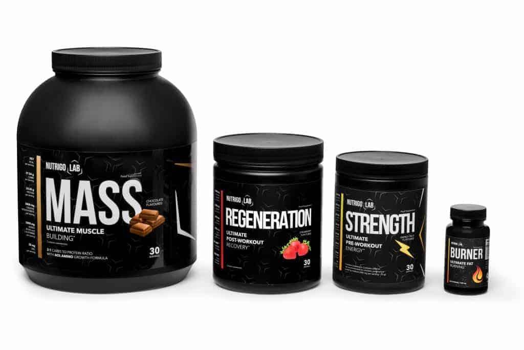 nutrigo lab supplementen