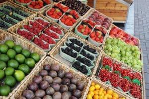 groente- en fruitkraam