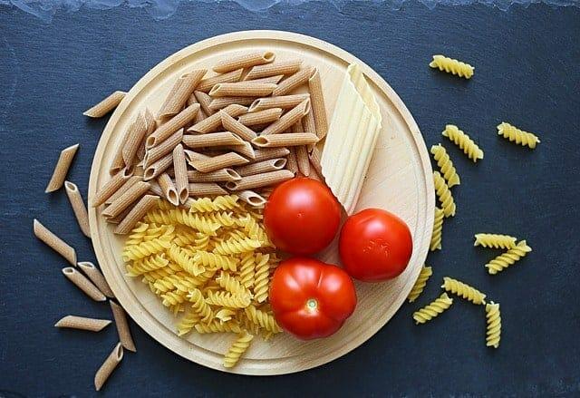 pasta met tomaten