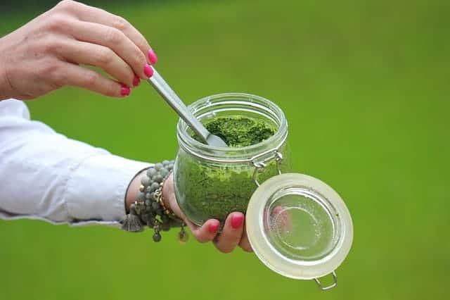 groene mousse