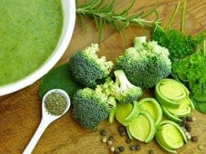 broccoli-soep, tijd