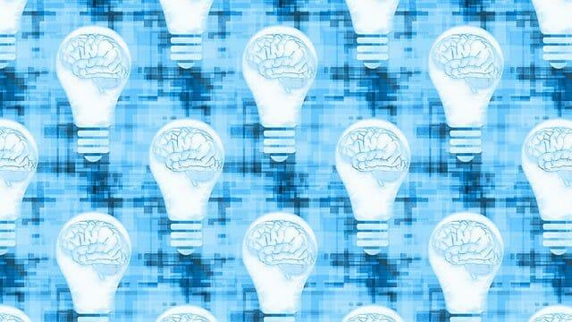 afbeeldingen die de hersenen in een gloeilamp laten zien