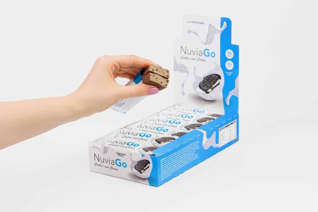 NuviaGo proteïnerepen