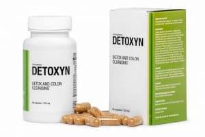 Detoxyn tablets voor het reinigen van het lichaam van gifstoffen
