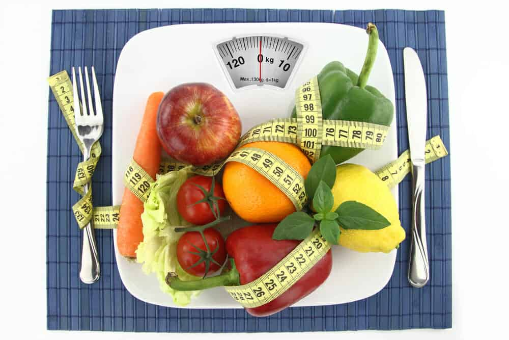 Groenten en fruit op je bord met een centimeter